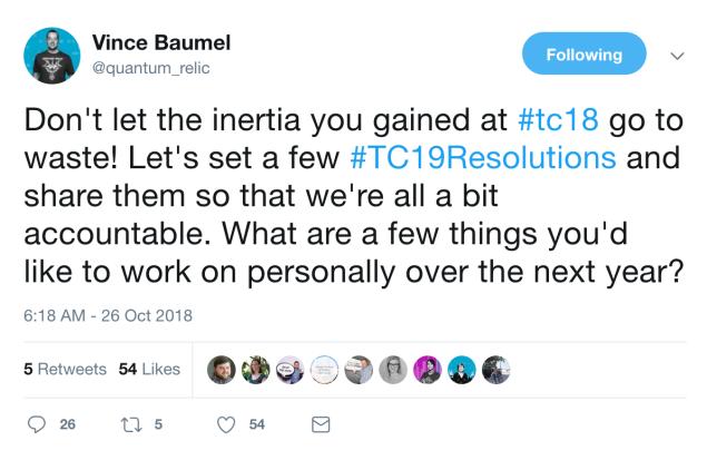 Vince Baumel tweet